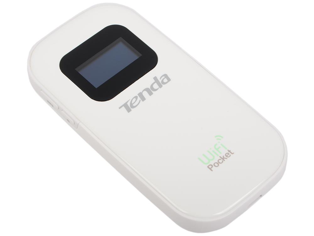 Точка доступа Tenda 3G185 3G портативныый Wi–Fi роутер со слотом для SIM-карт wi fi роутер tenda w3002r