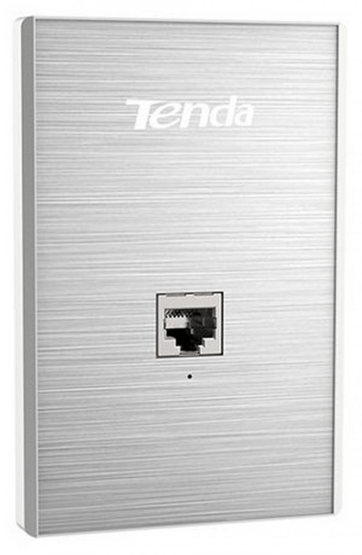 Точка доступа Tenda W6-US Точка доступа встраиваемая в стену 802.11bgn 300Mbps 2.4 ГГц 1xLAN серебристый ретранслятор tenda a300 802 11n 300mbps 2 4ггц