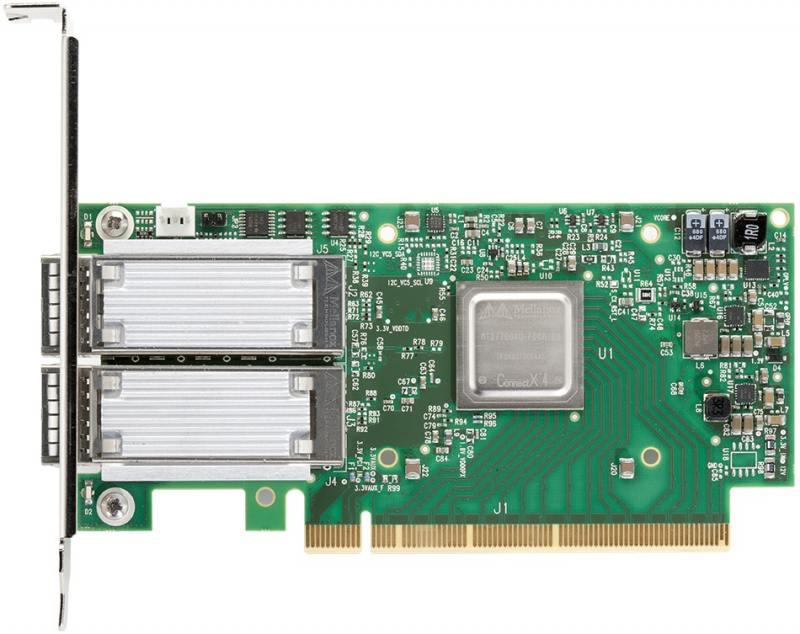 Сетевой адаптер Mellanox MCX416A-CCAT 10/100Mbps
