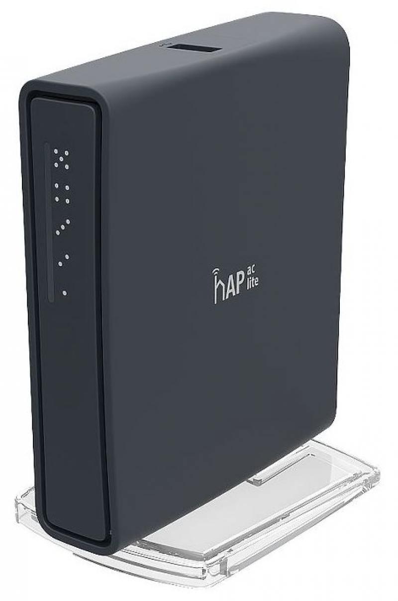 Беспроводной маршрутизатор MikroTik hAP AC lite TC 802.11acbgn 5 ГГц 2.4 ГГц 4xLAN PoE черный RB952U