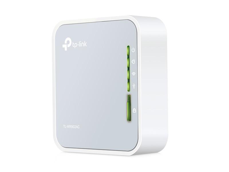 Маршрутизатор TP-LINK TL-WR902AC AC750 Портативный Wi-Fi роутер wi fi роутер tp link tl wr841n tl wr841n