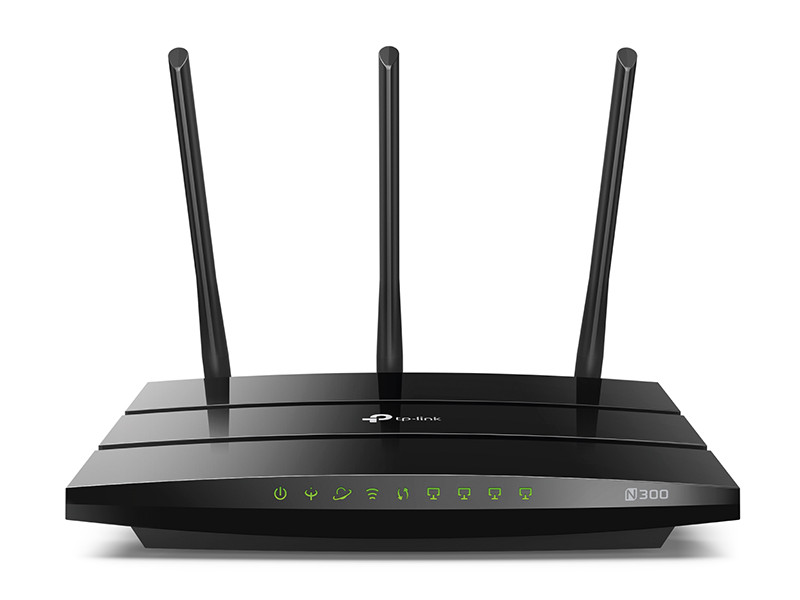 Маршрутизатор TP-LINK  TD-W9977 N300 Wi-Fi гигабитный роутер с VDSL/ADSL модемом wi fi xdsl точка доступа tp link td w9970 td w9970