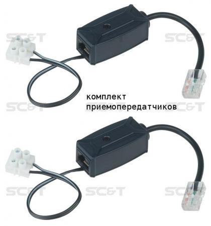 Комплект SC&T EP01 Инжектор + сплиттер для передачи напряжения питания от внешнего источника питания