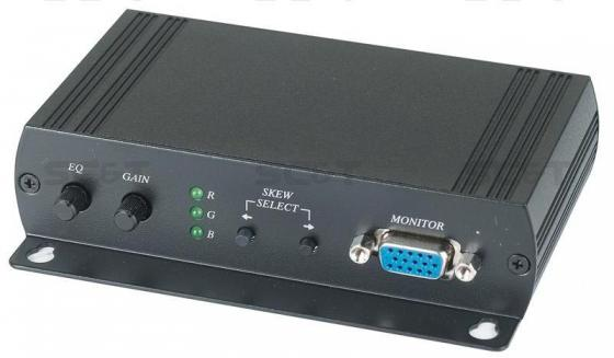 Приемник SC&T VE02DALS для VGA и аудио сигналов на 300м ve b43 cv