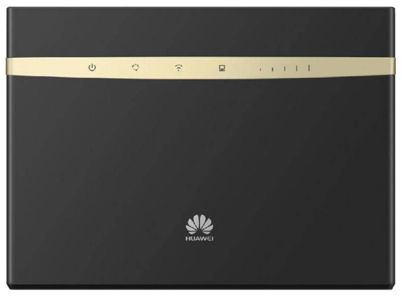 Мобильный роутер Huawei B525 802.11aс 1300Mbps 2.4 ГГц 5 ГГц 4xLAN USB RJ-11 черный мобильный роутер huawei b310s 22 802 11n 4g wifi