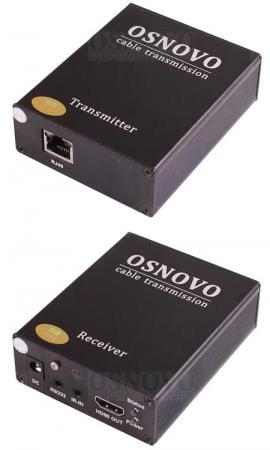 Фото - Комплект для передачи HDMI-сигналов Osnovo TLN-Hi/1+RLN-Hi/1 hi fi стойка solid tech ros 2 regular cherry