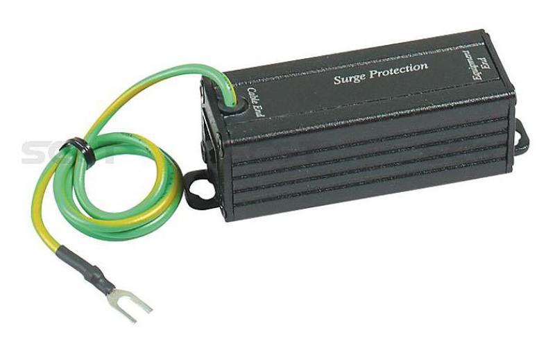 Устройство грозозащиты SC&T SP003 для передатчиков и приемников по витой паре 1 вход RJ45-мама/1выхо