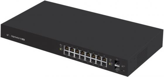 Коммутатор Ubiquiti ES-16-150W EdgeSwitch, 16-Port, 150W коммутатор zyxel gs1100 16 gs1100 16 eu0101f