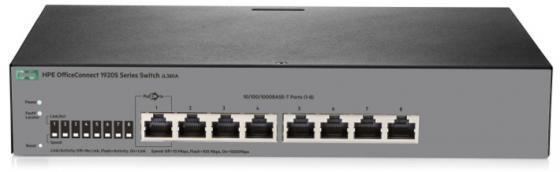 Коммутатор HP 1920S управляемый 8 портов 10/100/1000Mbps JL380A