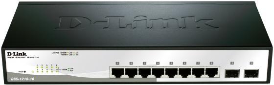 Коммутатор D-LINK DGS-1210-/F1A управляемый 8 портов /100/1000Mbps