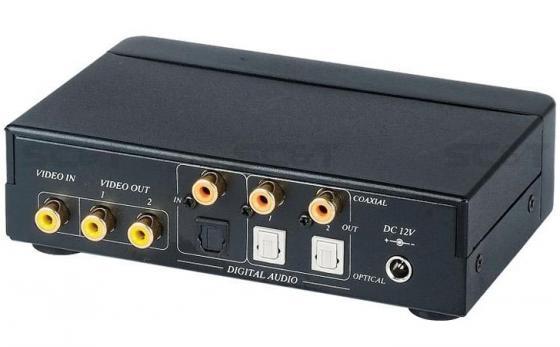 Разветвитель SC&T CD02D видеосигнал + цифровой аудио 1 вход/2 выхода 1хRCA видео 1хRCA цифр. аудио о cd диск guano apes offline 1 cd