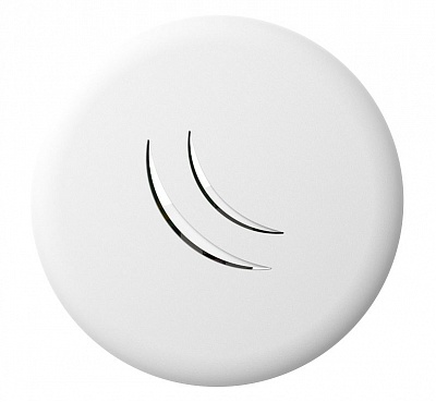 Точка доступа MikroTik cAP lite RBcAPL-2nD  Low-cost dual-chain 2.4GHz AP with wall and ceiling enclosure
