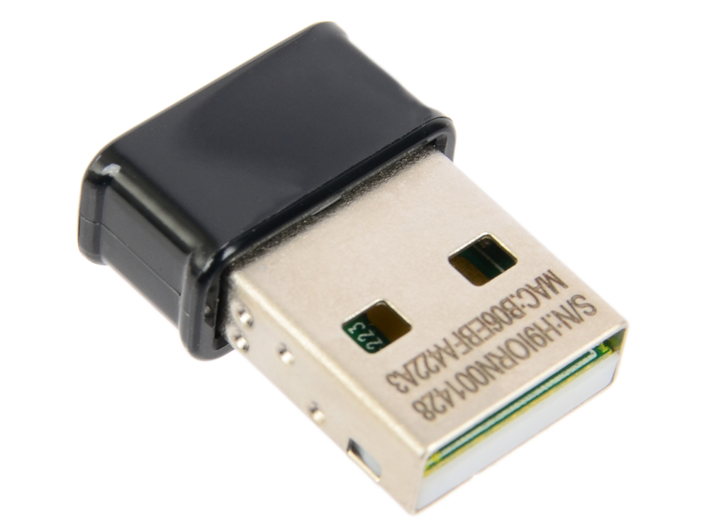 Беспроводной Wi-Fi адаптер ASUS USB-AC53 Nano 802.11ac, 867Mbps, 2.4/5GHz, USB wifi usb адаптер asus usb ac53 nano