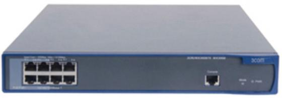 Коммутатор HP A3000-8G-PoE+ управляемый 8 портов 10/100/1000Mbps JD444A коммутатор hp e1910 8 poe управляемый 8 портов 10 100mbps poe jg537a