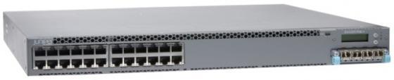 Коммутатор Juniper EX4300-24T управляемый 24 порта 10/100/1000Mbps сетевое оборудование juniper srx210 srx210he