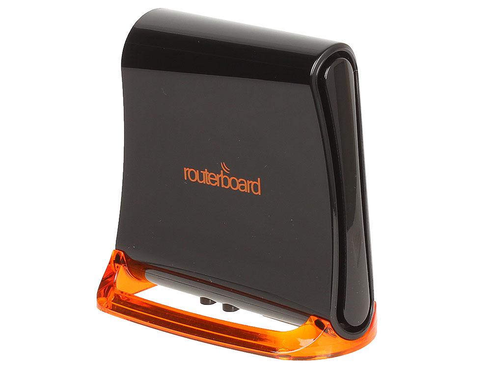 Беспроводной маршрутизатор MikroTik hAP Mini 802.11bgn 300Mbps 2.4 ГГц 2xLAN черный RB931-2nD маршрутизатор mikrotik rb951ui 2nd hap 802 11n 300mbps 2 4ггц 4xlan