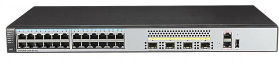 Коммутатор Huawei S5720S-28X-SI-AC 28 портов 10/100/1000Mbps 4хSFP huawei universal travel ac 100 240v power adapter black us plug