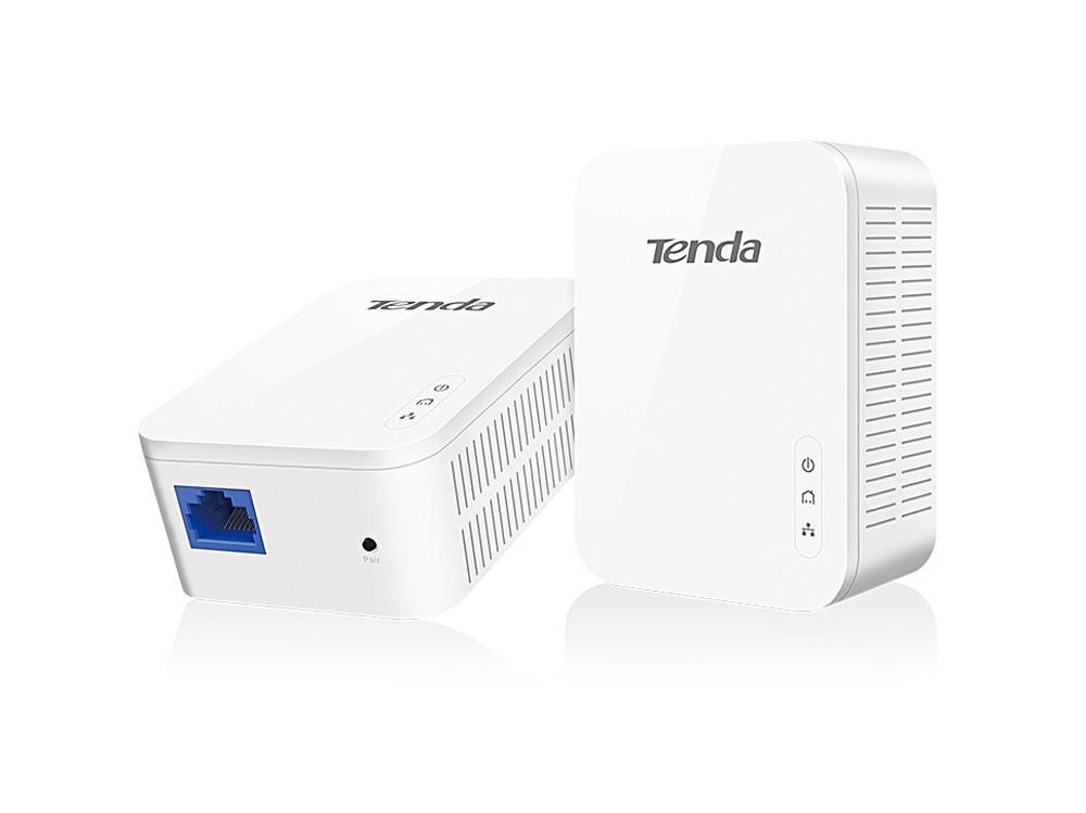 Адаптер PowerLine Tenda  P3 AV1000 гигабитный Powerline адаптер. GE порт; совместимость с Home Plug AV2; Plug-and-Play; низкое энергопотребление; реж адаптер tp link tl wpa4220kit 300mbps wireless av500 powerline extender 500mbps powerline datarate 2 10 100mbps fast ethernet ports homeplug av plug and play wifi clone single pack
