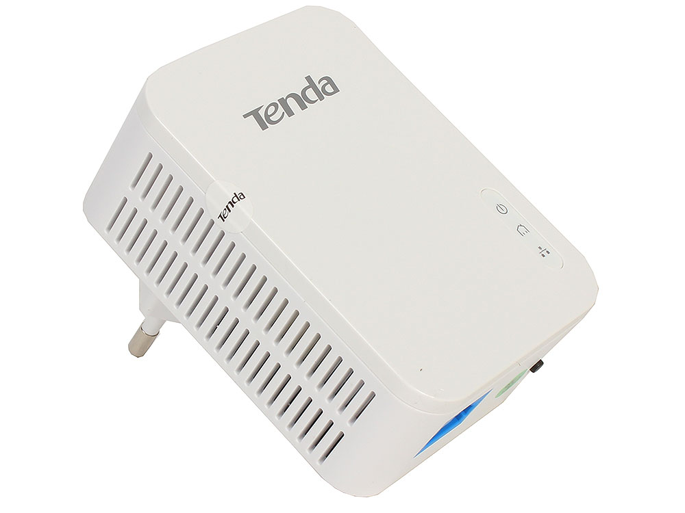 Адаптер PowerLine Tenda P3 AV1000 гигабитный Powerline адаптер. GE порт; совместимость с Home Plug AV2; Plug-and-Play; низкое энергопотребление; реж tenda ph15 1000m gigabit wireless wifi powerline adapter extender kit network power line ethernet adapters 500mbps homeplug av2