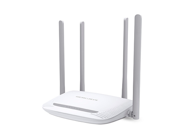 Маршрутизатор Mercusys MW325R Wi-Fi роутер, до 300 Мбит/с на 2,4 ГГц, 8, 1 порт WAN 100 Мбит/с + 4 порта LAN 10/100 Мбит/с, 4 фиксированные антенны маршрутизатор adsl tenda d305 300 мбит c беспроводной модем маршрутизатор adsl2 4 несъемные внешние антенны 5dbi rj11 dsl 4 порта lan порт usb