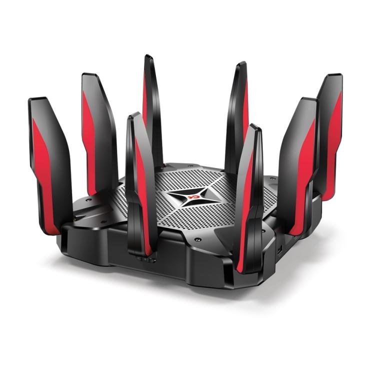 Wi-Fi роутер TP-LINK Archer C5400X 802.11abgnac, 5334Mbps, 2.4/5GHz, 1xWAN, 8xLAN, 2xUSB wi fi роутер tp link archer c5400