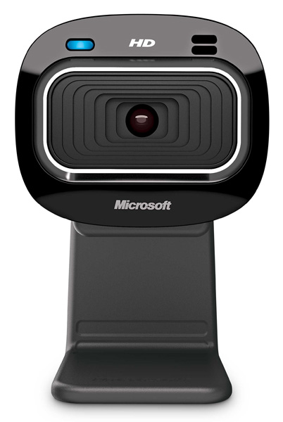 (T3H-00013) Камера интернет Microsoft LifeCam HD-3000 USB Retail used good condition la255 3 with free dhl