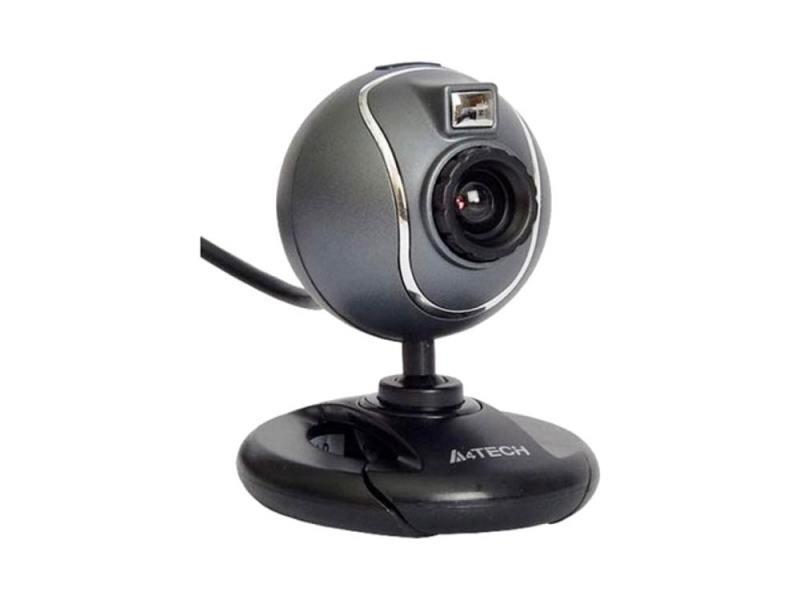 Веб-камера A4Tech PK-750G серый