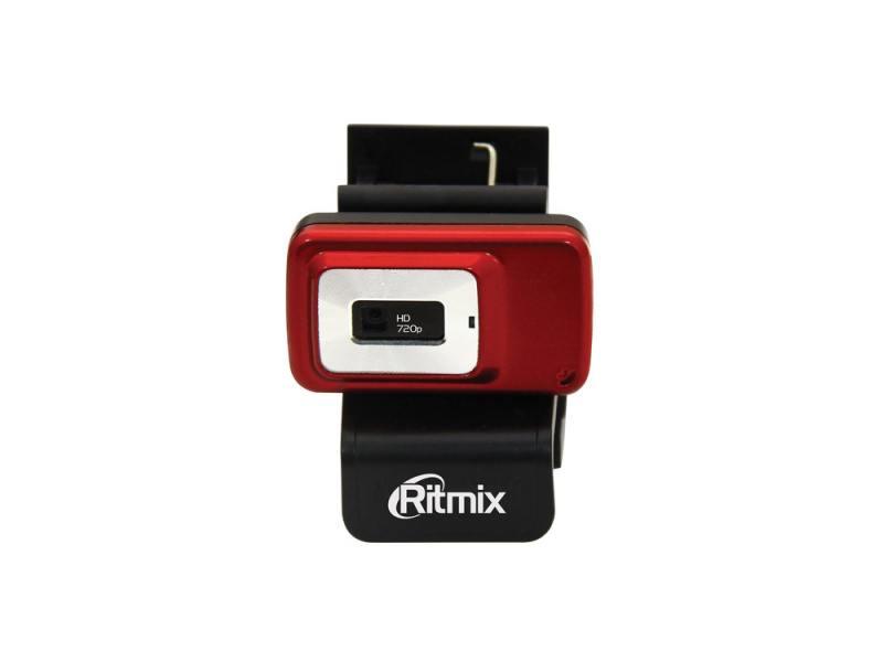 Веб-Камера Ritmix RVC-053M черно-красный