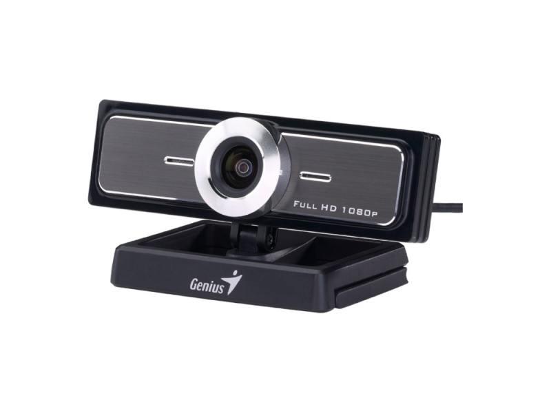 Веб-Камера Genius WideCam F100 угол обзора 120 гр, 12мп интерполяция, встр. микрофон, 1080P полный HD, 30 кадров в сек., вращение 360 градусов