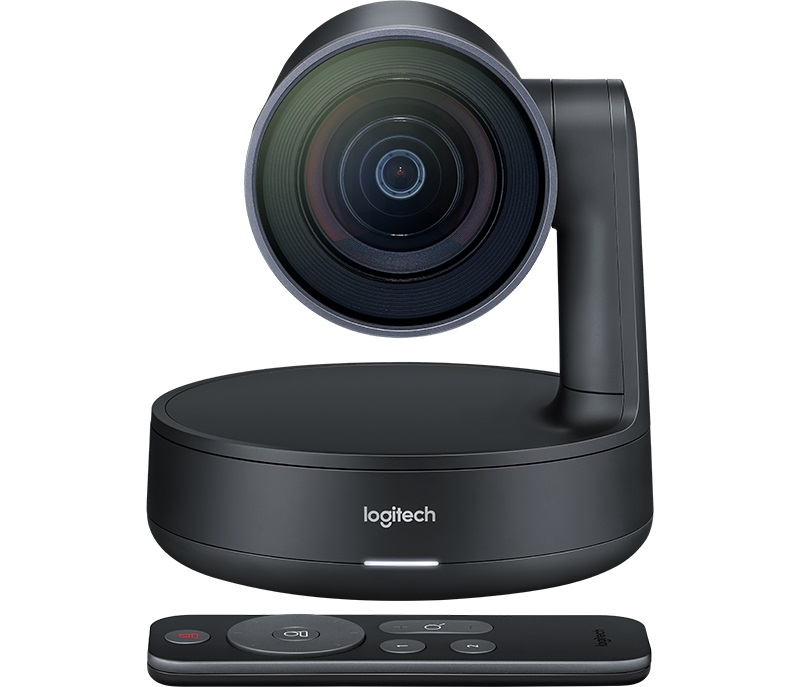 Веб-камера Logitech ConferenceCam Rally 3840x2160, 90 градусов, USB logitech c270 720p 3 мп широкоформатный hd веб камера с видеотелефония и записи