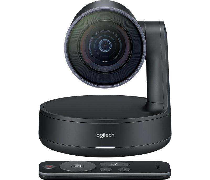 Веб-камера Logitech ConferenceCam Rally 3840x2160, 90 градусов, USB веб камера logitech g240 cloth gaming mouse pad 943 000094