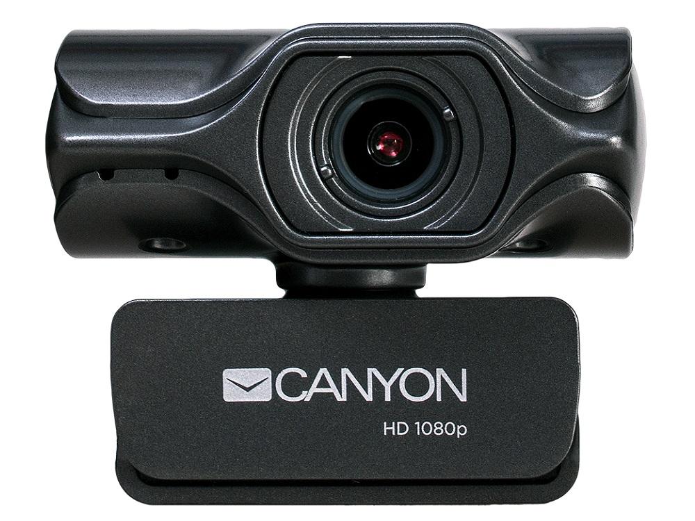 Веб-камера Canyon CNS-CWC6 черный 3.2 МПикс, 2K Quad HD, USB 2.0 крепление для штатива, автофокус, микрофон с автоматическим шумоподавлением автомагнитола pioneer deh s3000bt usb mp3 cd fm rds 1din 4x50вт черный