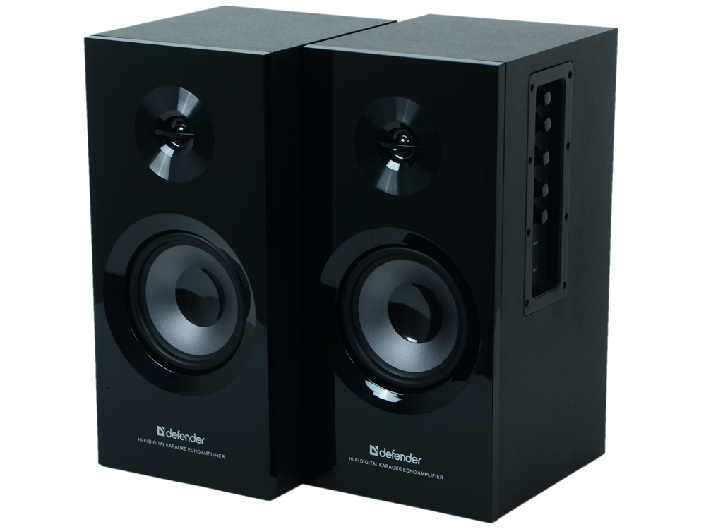 Колонки Defender Mercury 35 MK-II Brown Brown box, 2*20w RMS, Дерево