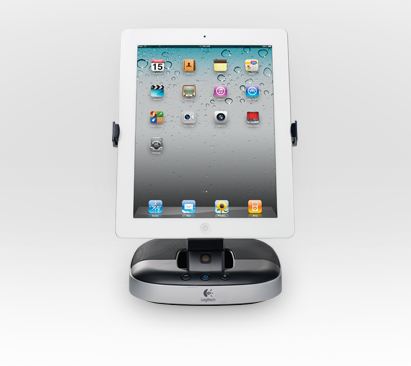 Колонки (980-000596) Logitech Speaker Stand for iPad