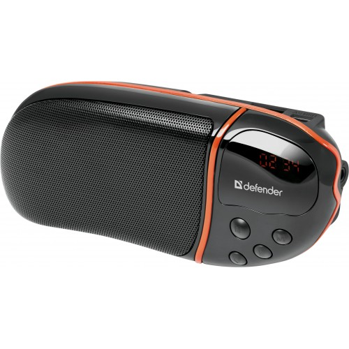 Фото - Колонки Defender Spark M1 6 Вт, FM, SD/USB, MP3, дисплей 4 in 1 0 6 lcd car mp3 player fm transmitter w 3 5mm audio plug black dc 12v 63cm cable