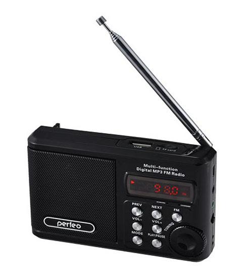 Мини аудио система Perfeo Sound Ranger 4 in 1  PF-SV922 черный