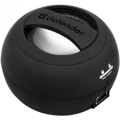 Колонки Defender Soundway Black — 2 Вт, черный