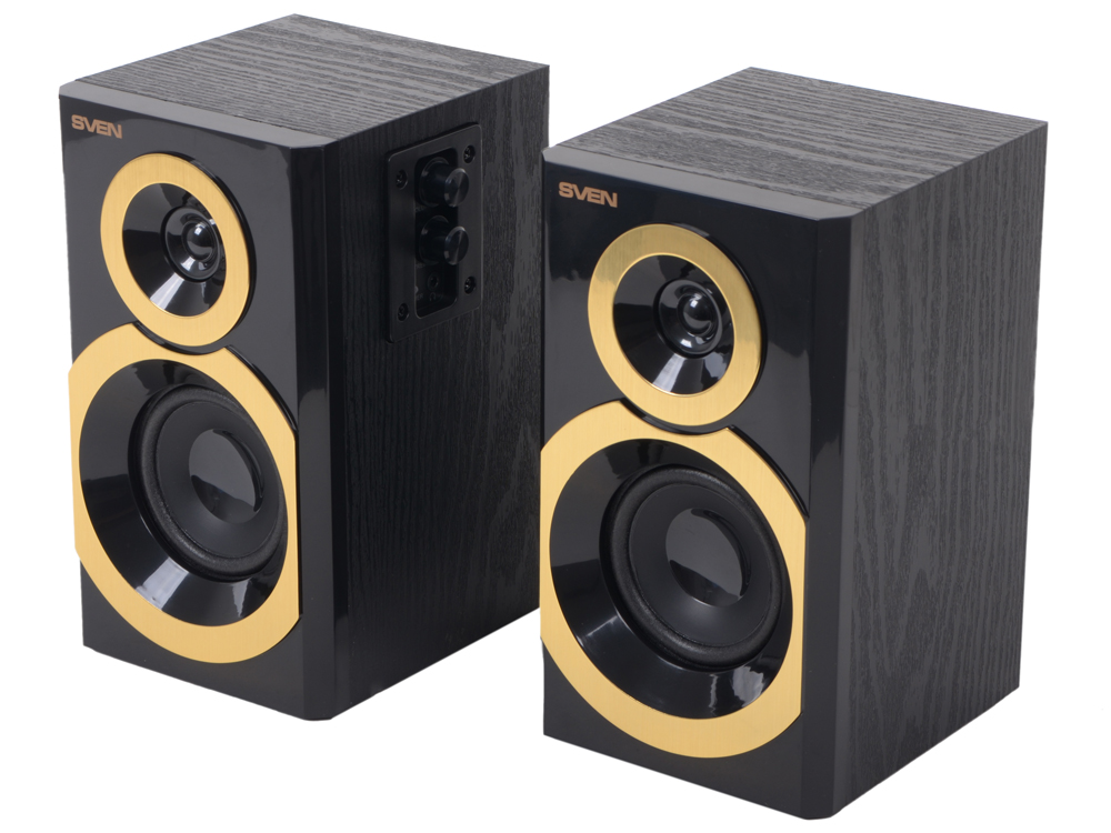 Колонки Sven SPS-619 GOLD компьютерная акустика sven sps 619 gold black