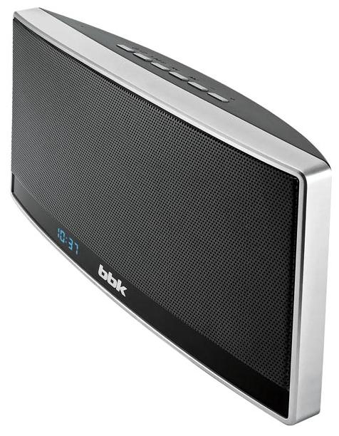 Беспроводная (bluetooth) акустика BBK BTA115 черный/металлик
