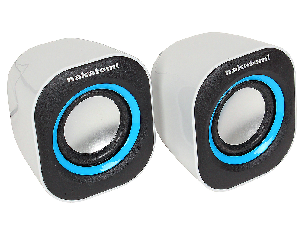 Колонки Nakatomi BC-05UP Black-white 6W RMS-2.0, USB