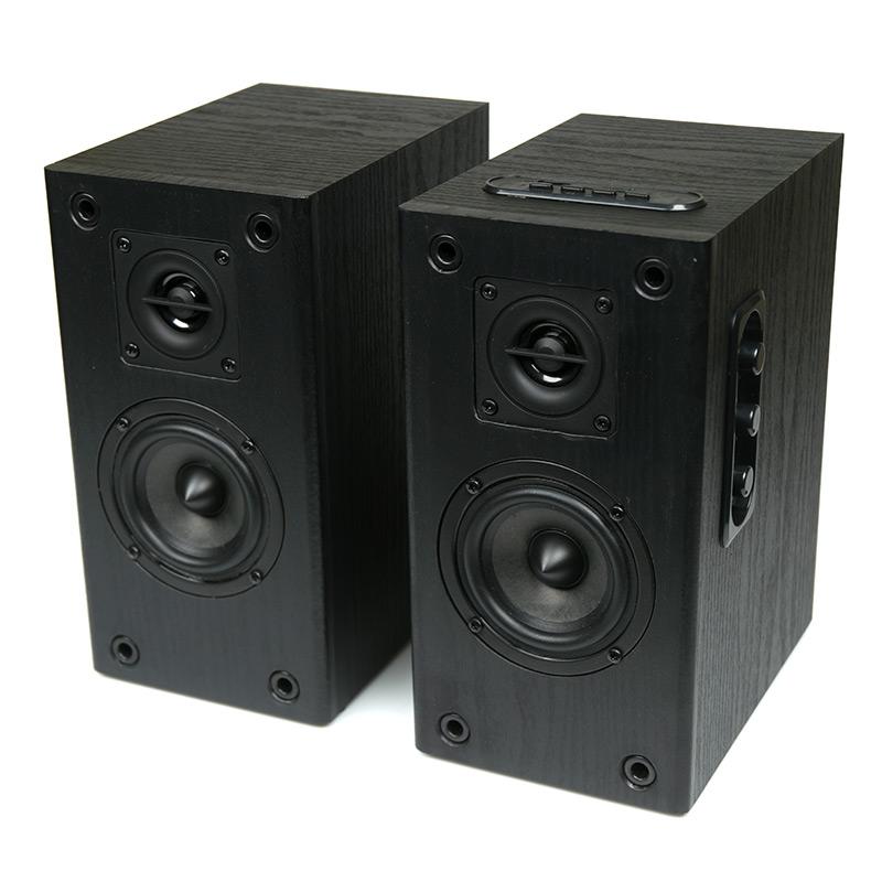 Колонки Dialog Blues AB-41B Black 2.0, 2*5W RMS, Bluetooth, USB+SD reader