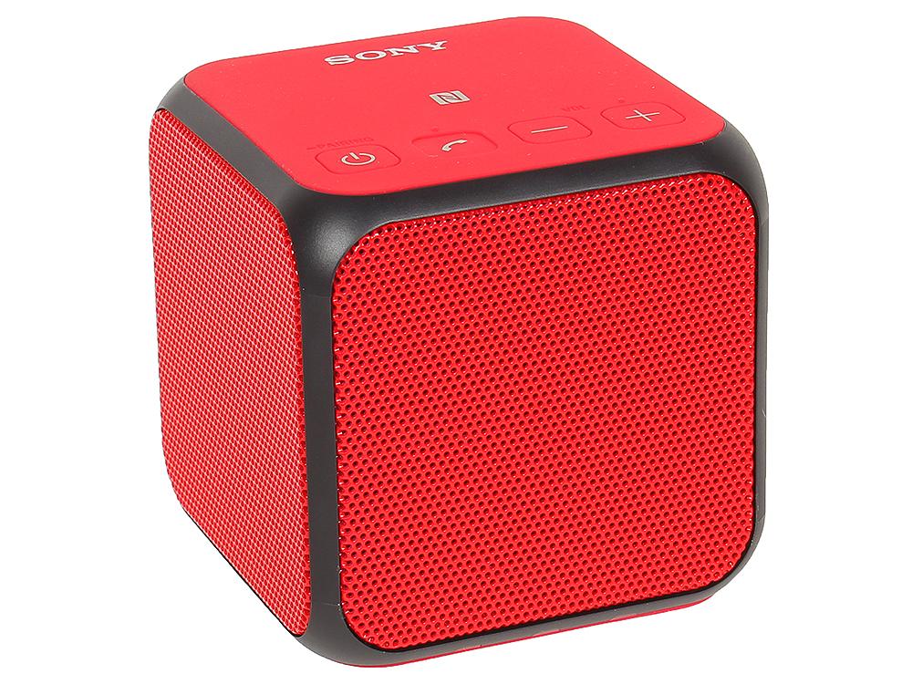 Беспроводной портативный динамик Sony SRS-X11R (Красный)