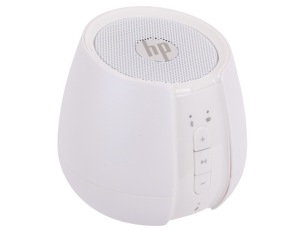 Колонка Bluetooth беспроводная HP S6500 White BT Wireless Speaker(N5G10AA) v4 bt intercom full duplex wireless bluetooth headsets interphone for football basketball coach max 1200m range with radio