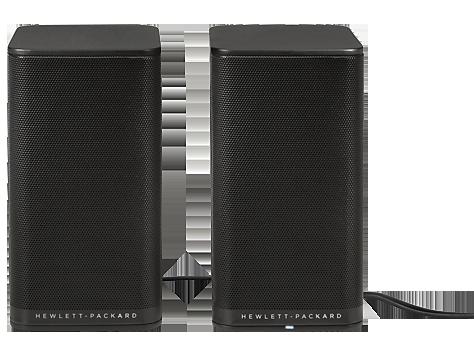 Стереоколонки HP 2.0 PC Black S5000 Speaker (K7S75AA)