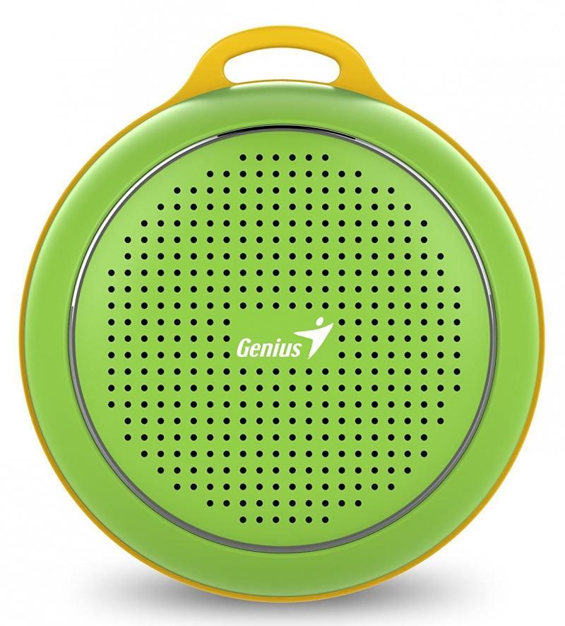 Портативная акустика Genius SP-906BT 3 Вт зеленый компьютерные колонки genius sp hf500a