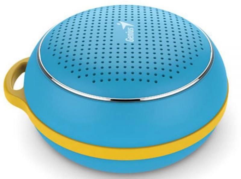 Портативная акустика Genius SP-906BT 3 Вт синий genius bluetooth колонка genius sp 906bt blue