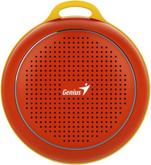 Портативная акустика Genius SP-906BT 3 Вт красный компьютерные колонки genius sp hf500a