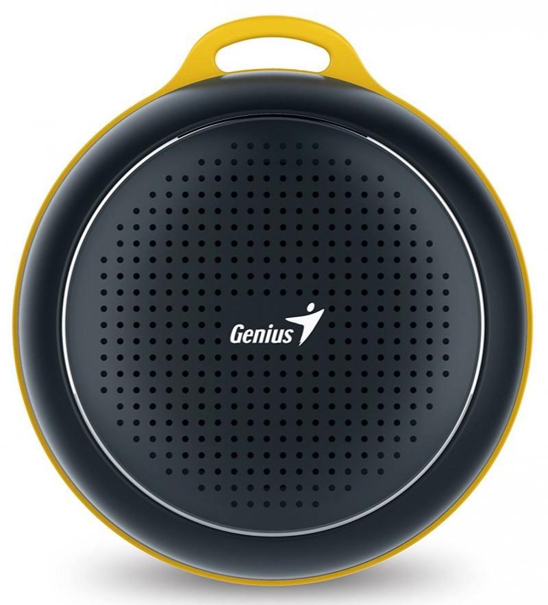 Портативная акустика Genius SP-906BT 3 Вт черный genius bluetooth колонка genius sp 906bt blue