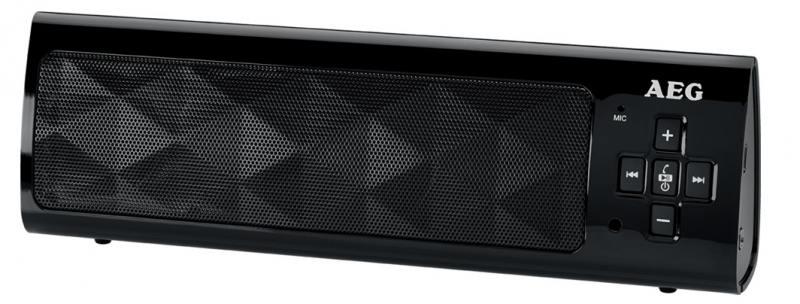 Bluetooth-аудиосистема AEG BSS 4818 black bluetooth аудиосистема aeg bss 4827 anthracite серый