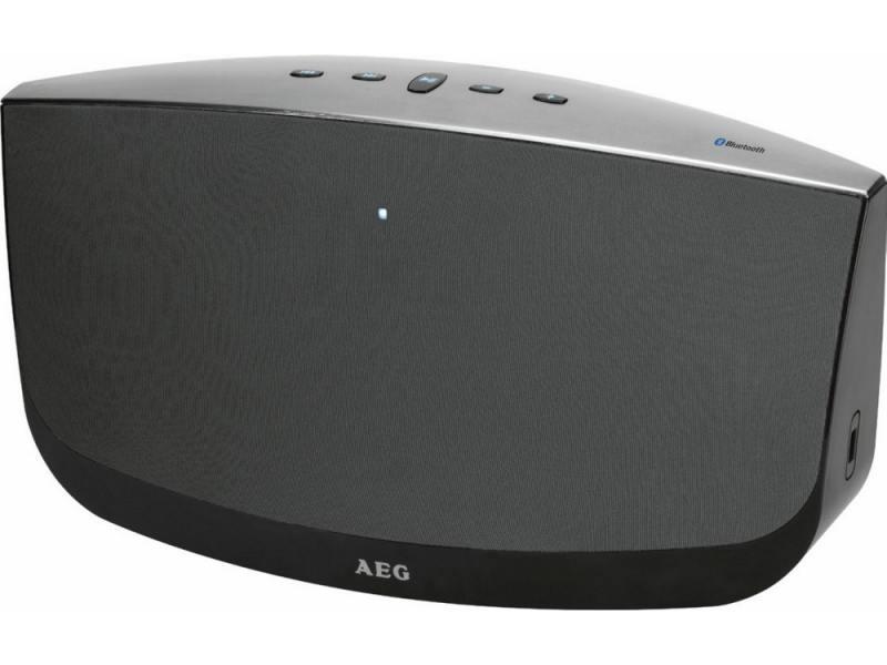 Портативная акустика AEG BSS 4804 100Вт Bluetooth черный-серый